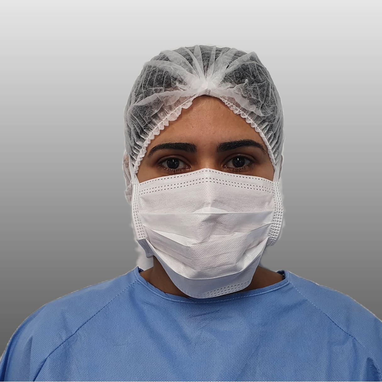 Fábrica de máscara cirúrgica descartável
