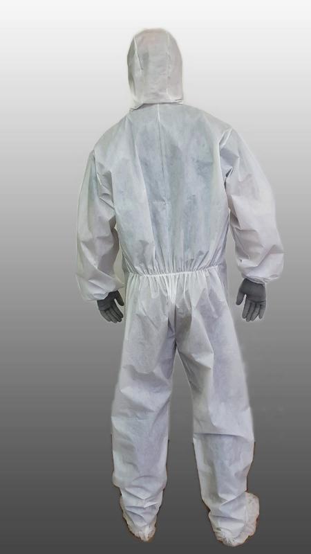 Macacão de proteção quimica e biologica