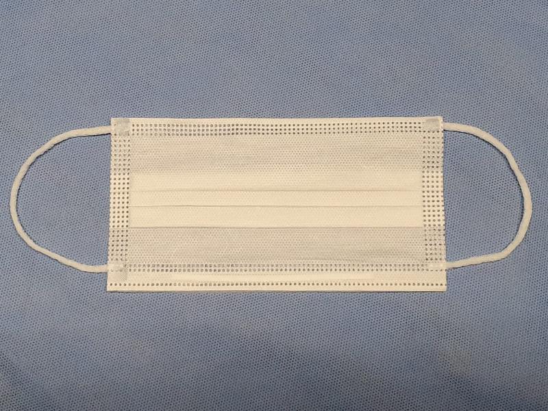 Mascara cirurgica descartavel polipropileno