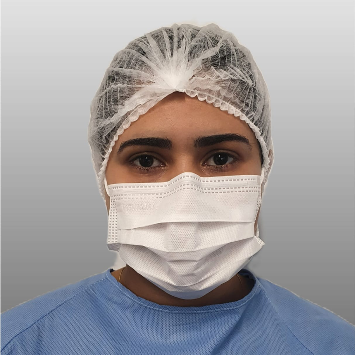 Máscara cirúrgica tripla polipropileno